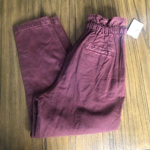 Free People Pants & Jumpsuits - Free People Margate Pleated Trouser high rise pant